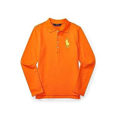 Polo Ralph Lauren Girl\u0027s Big Pony Long Sleeve T-shirts, Medium(8-