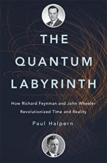 Book Cover: The Quantum Labyrinth: How Richard Feynman and John Wheeler Revolutionized Time and Reality