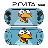 Decorative Video Game Skin Decal Cover Sticker for Sony PlayStation PS Vita (PCH-1000) - Angry Blue Bird