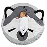 Baby animal cotton rug kid playing game carpet outdoor quilt (Fox, 37.4 inch)
