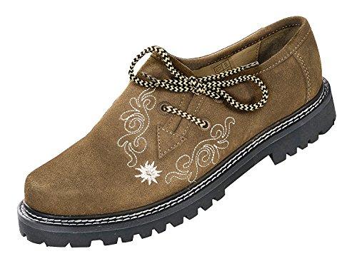 lacets et Chaussures à femme classique Fauve coupe Alpenlife Oq7nwg8BO