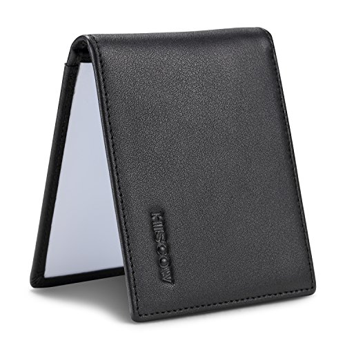 HISCOW Bifold Driver License Holder with a Front Card Slot - Italian Calfskin