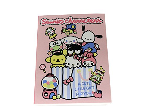 Hello Kitty and Friends Sanrio Multi foldable Memo Pad 6-design Book