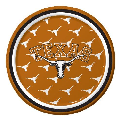 Texas Longhorns Dessert Paper Plates,