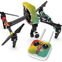 Skin For DJI Inspire 1 Quadcopter Drone – Tiki Man | MightySkins Protective, Durable, and Unique Vinyl Decal wrap cover | Easy To Apply, Remove, and Change Styles | Made in the USA