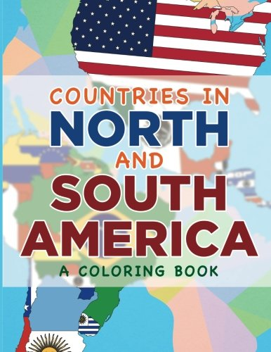 Countries in North and South America (A Coloring Book)