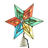 Kurt Adler UL3133 10-Light Multi Star Treetop