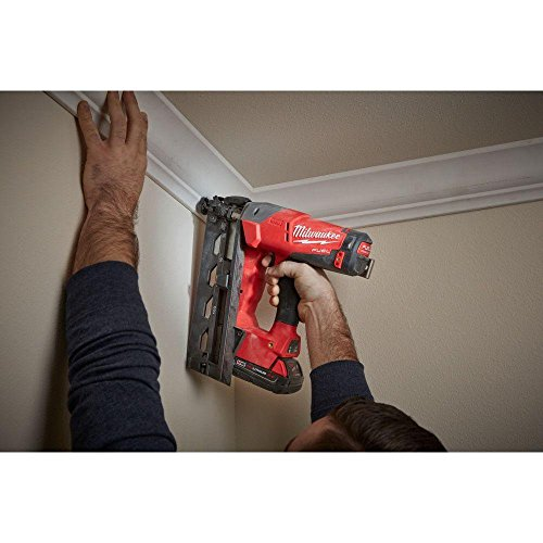 Milwaukee M18 FUEL 18-Volt Lithium-Ion Brushless Cordless 16-Gauge Angled Finish Nailer (Tool Only)