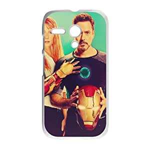 Iron Man SANDY0542254 Phone Back Case Customized Art Print Design Hard Shell Protection Motorola G