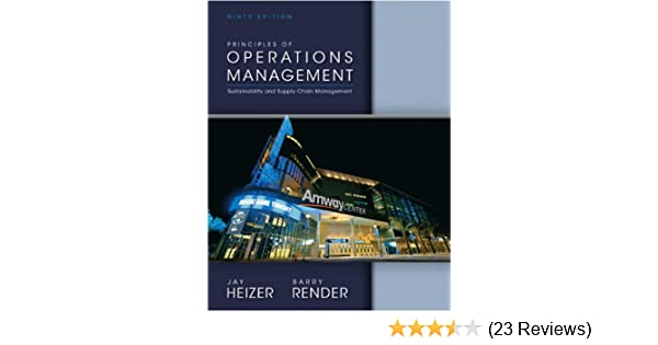 Principles of operations management 9th edition jay heizer barry principles of operations management 9th edition jay heizer barry render 9780132968362 amazon books fandeluxe Image collections