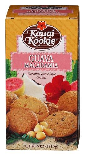 Kauai Kookie Guava Macadamia 5 Ounce (Best Food In Hawaii)