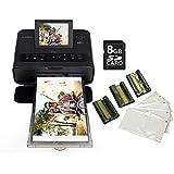 Impressora fotográfica Canon Selphy CP1300 c/Wi-Fi + Kit toners e SD 8GB