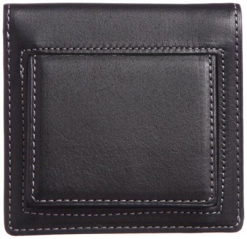 THINly Leather Bifold Wallet with Change Pocket SLBS03 Black by THINly