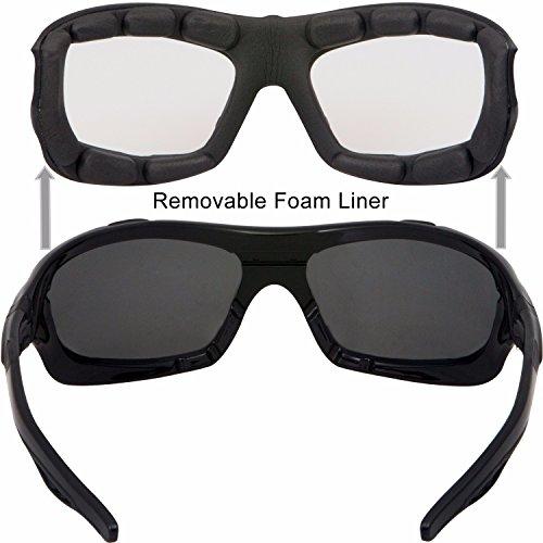 8608df867e WYND Blocker Polarized Riding Sunglasses Extreme Sports Wrap Motorcycle  Glasses lovely