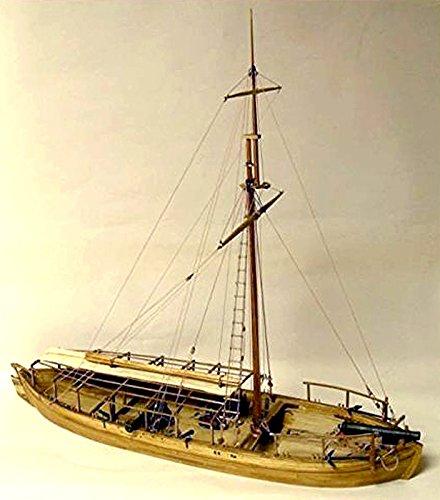 Model Shipways Gunboat Philadelphia Wood & Metal Kit - Sale 55% off - Model Expo