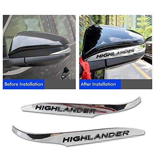 Used, Easy Eagle 2pcs ABS Chrome Rearview Side Mirror Cover for sale  Delivered anywhere in USA