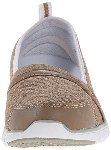 Propet Womens Travellite Sn Walking Shoe Taupe