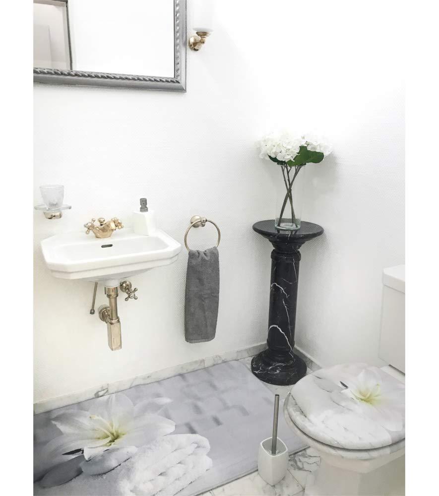 Bon Sentiment Finition de haute qualit/é Fixation facile Abattant WC frein de chute soft close