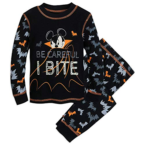 Mickey Mouse Halloween (Disney Mickey Mouse ''Be Careful I Bite' PJ PALS for Kids Size 4)