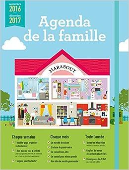 Agenda de la famille 2016-2017
