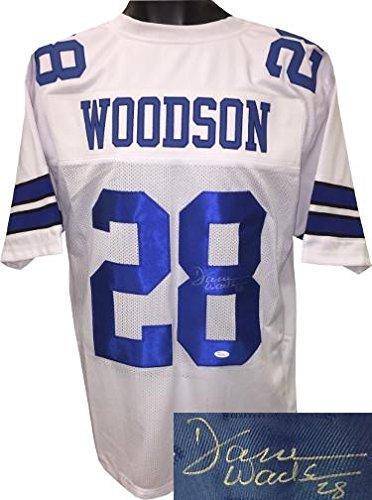 Dez Bryant Autograph Nameplate Dallas Cowboys Autograph Photo Ball Jersey