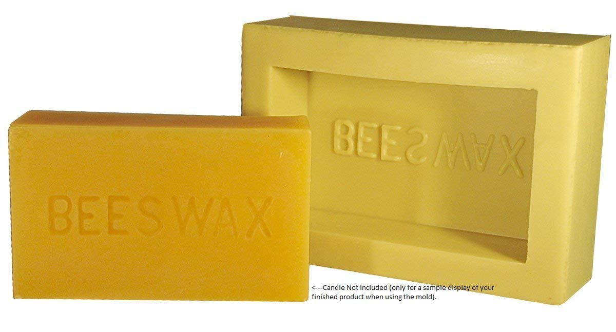 Mann Lake''Beeswax Bar'' Candle Mold, 1-Pound (Тhrее Расk) by Mann Lake (Image #1)
