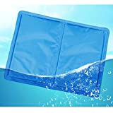 Pet Cooling Mat PETFLY Self Cooling Cushion Keeping Pets Cool Summer Sleeping Mat for Cats and Dogs (M)