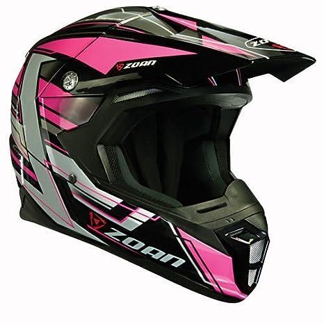 Amazon.es: Zoan cascos sincronía MX carrera Equipe rosa Offroad Motocross casco de moto 3 x -Large