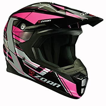 Zoan cascos sincronía MX carrera Equipe rosa Offroad Motocross casco de moto 3 x -Large