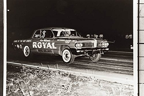 1962 Pontiac Catalina Royal Drag Race Factory Photo