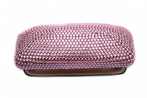 Fashion Pink Bling Crystal Travel Glasses Case Cute Rhinestone Gift Eyeglasses Box by Bling Dynasty (Image #2)