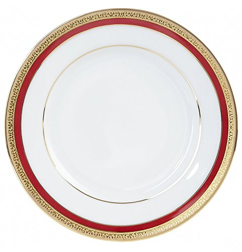 Charter Club Dinnerware, Red Rim Salad Plate