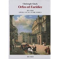 ORFEO ED EURIDICE VOCAL SCORE PAPER ITALIAN