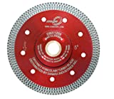 "4.5"" Cyclone Mesh Rim Diamond Blade for Porcelain"