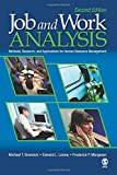 Job and Work Analysis: Methods, Research, and Applications for Human Resource Management