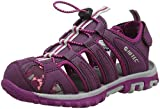 Hi-Tec Girls' Cove JRG Hiking Sandals, Purple (Grape Wine/Amaranth/Boysenberry), 3 UK 35 EU