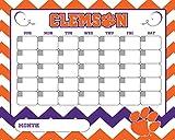 CLEMSON CALENDAR-CLEMSON TIGERS DRY ERASE CALENDAR-16'' X 20''