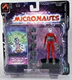 Micronauts Red and Silver Time Traveler Action Figure Palisades