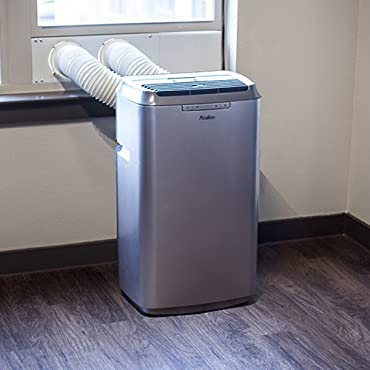 Avallon 12,000 BTU Dual Hose Portable Air Conditioner No Draining Required