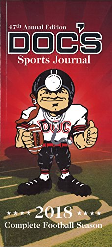 DOC'S 2018 Sports Journal Complete Football Season Schedule College & NFL