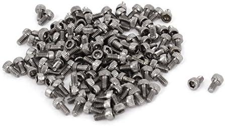 3 mm Head diámetro m acero inoxidable 1,6 x 3 mm llaves ...