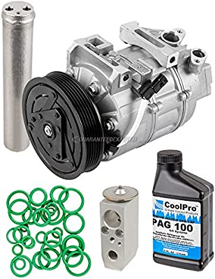 BuyAutoParts - Compresor de CA y embrague con kit completo de reparación para Nissan Altima; modelo 60–81776RK