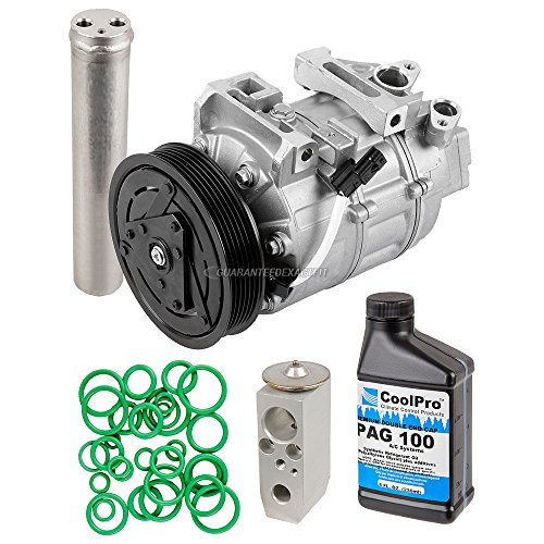 AC Compressor w/A/C Repair Kit For Nissan Altima 2007-2012 - BuyAutoParts 60-81776RK NEW