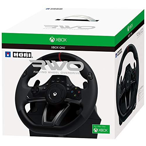 HORI Racing Wheel Overdrive for Xbox One Officially Licensed by - Racing Forza Seats