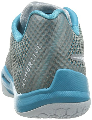 Nike Mens Hyperlive Ep, Wolf Grijs / Wit-oemga Blauw-zuiver Platina Wolf Grijs / Wit-oemga Blauw-zuiver Platina