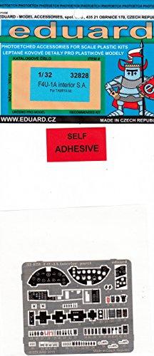 EDU32828 1:32 Eduard Color PE - F4U-1A Corsair Interior Detail Set (for use with the Tamiya kit) MODEL KIT ACCESSORY (Colors Corsair F4u)