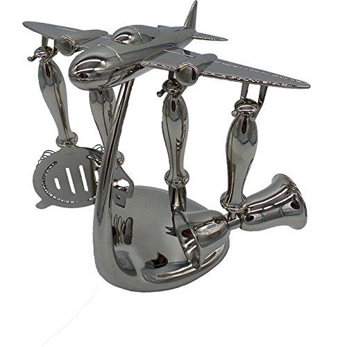 GodingerAirplane 5 Pc Bartools W/Stand