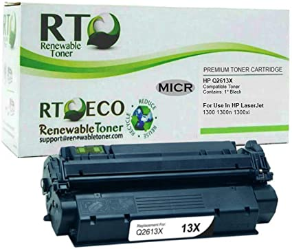 Pack of 5 Toner Cartridges Q2613X 13X for 1300n series printer FREE SHIPPING!