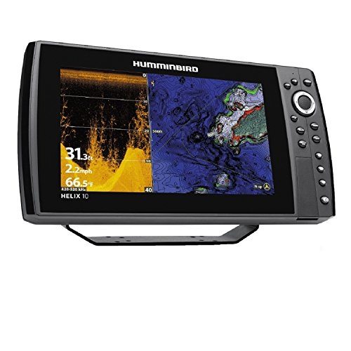 Humminbird 410110-1 Helix 10 CHIRP Di GPS G2N Fishing Charts & Maps