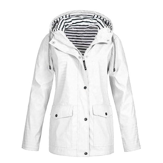 Mode Damen Trenchcoat Frauen Zipper Mit Kapuze Softshell Hoodie Warme Outdoor Winddichte Mantel Jacke rovinci Funktionsjacke Leicht Kapuzenjacke mwyv80NnO